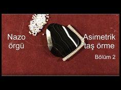 Nazo örgü ile asimetrik taş örme. Bölüm 2/7 - YouTube