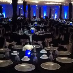 Grove Education Foundation for Excellence annual fundraising gala. Beautiful event decorations!