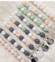 Silicone teething pacifier clip, for boy girl Safe for your baby to touch, chew 1.Durable and safe2.BPA free,non-stick, eco-friendly 3.Very easy clean,more safe and soft 4.Have many different shapes for you choose 5.For baby teething and lady wearing,collection,decoration and gifts 100%