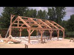 Comment construire une pergola en bois en 8 étapes - YouTube