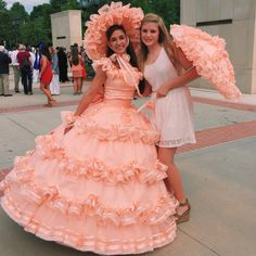 You made fun of my being a southern belle reenactor once too many times Ron, now you're stuck craving bloomers, petticoats, and being as feminine as you can be,