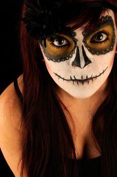 Day of the Dead Dia de los Muertos calavera skull make up
