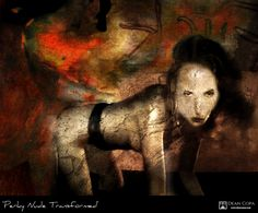 """""""Perky Nude Transformed"""" 2014 by Dean Copa. Art Series, Day Work, Day For Night, New Media, Dean, Nude, Fine Art, Photography, Painting"""