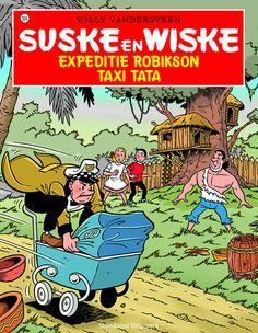 Suske en Wiske 334 - Expeditie Robikson / Taxi Tata https://www.suskeenwiskeshop.com/hoofdreeks/suske-en-wiske-334-expeditie-robikson-taxi-tata