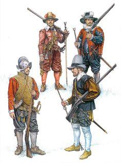 Matchlock Musketeer: Elizabethan infantry, 1588-1603