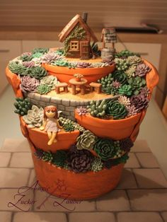 Amazing DIY Mini Fairy Garden for Miniature Landscaping 76 #MiniGarden
