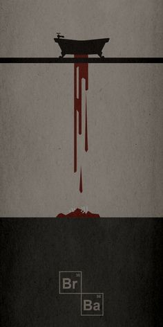 Minimalist film poster for Breaking Bad Art Breaking Bad, Breaking Bad Funny, Breaking Bad Poster, Breaking Bad Quotes, Breaking Bad Season 1, Breaking Bad Tattoo, Pulp Fiction, Beaking Bad, Minimal Movie Posters