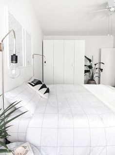 How to Keep Cool Without Ever Turning On Your AC: Invest in Pure Cotton Sheets. Synthetic fabric blends might be soft to the touch, but they won't keep you as cool https://www.popsugar.com/home/How-Keep-Your-Home-Cool-43614230?stream_view=1#photo-43614261