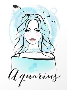 Aquarius ~ goes her own way