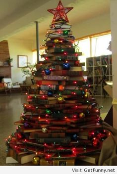 Recycled Christmas tree this year in 2013 is awesome