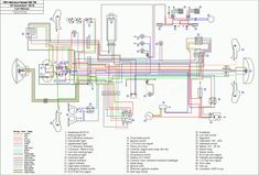 Wiring Diagram Vauxhall Corsa C Fuse Box Numbers In - hd-dump. Yamaha Dt, Yamaha Motorcycles, Custom Motorcycles, Honda Scrambler, Diagram Design, Diagram Chart, Circuit Diagram, Caravan, Blaster 200