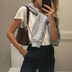 casual look today Classy Dress, Classy Outfits, Trendy Outfits, Fall Outfits, Summer Outfits, Looks Style, Casual Looks, Classy Casual, Mode Outfits