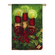 Regular Sized Silk Reflections Flag Holiday Candles -- You can find more details by visiting the image link.