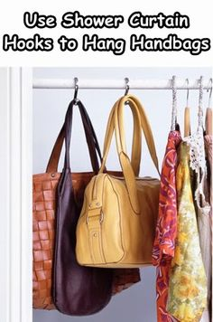 12 Easy Tips On How Organize Your Closet With Life Hacks | Gurl.com - LIKE THIS IDEA FOR BELTS