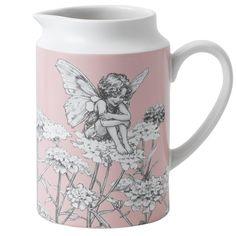 A28447 Candytuft Pint Jug #jug #enesco #flowerfairies
