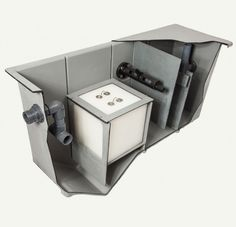 Global-Tek: Oil / Water Separator for Industrial Wastewater Service Learning, Oil Water, Tank Design, Decorative Boxes, Industrial, Technology, Industrial Music, Decorative Storage Boxes