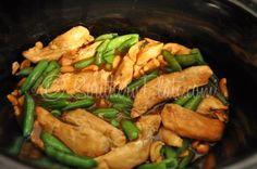 Slow Cooker Cashew Chicken Teriyaki ~ http://www.southernplate.com