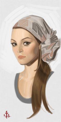 Timed Head Sketch 629 by ~FUNKYMONKEY1945 on deviantART
