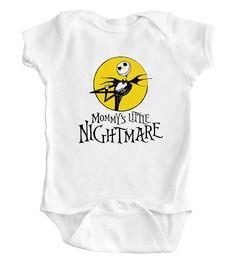NIGHTMARE BEFORE CHRISTMAS - Baby Romper / Creeper / Bodysuit / Vest / One piece / Baby Shower