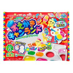 Kracie Popin' Cookin' DIY Candy Making and Painting Kit
