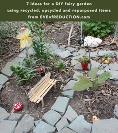 DIY Fairy Garden Ideas - Eve of Reduction