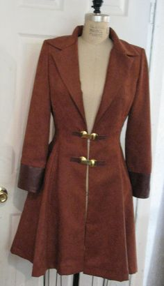 custom leather #Browncoat for a Captain Mal or Zoe cosplay. #Firefly #Serentiy