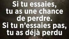 Franch Quotes : Vrai ✅ - The Love Quotes Positive Attitude, Positive Quotes, Motivational Quotes, Inspirational Quotes, Best Quotes, Love Quotes, Think, French Quotes, Some Words