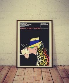 Plakat No. 8 Powrót Różowej Pantery - PSP_sc - Pozostałe