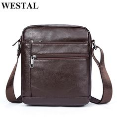 f80acc894c1b Westal Пояса из натуральной кожи Мужские сумки Сумки через плечо клапаном мужской  сумка Для мужчин кожа небольшой Ipad держатель сумка естественно купить на  ...