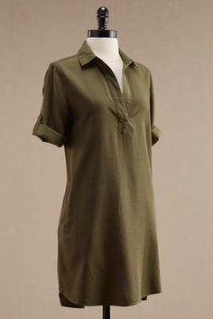 Versona soft chambray tunic #Versona