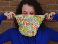 Ravelry: Colour Me Surprised Cowl pattern by Emily Manasc