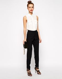 Agrandir New Look - Pantalon slim de tailleur