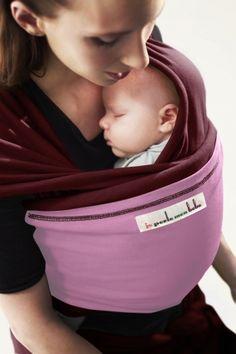 Echarpe de portage BORDEAUX, poche Parme Dragée   JPMBB ®   Echarpe porte  bébé b0f9e1b3318