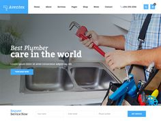 Aventex is a Construction Free HTML Template for Plumber, Construction and Repair websites. It has purpose oriented design, responsive layout and special features like appointment forms, services, schedules, pricing plans and other pages.