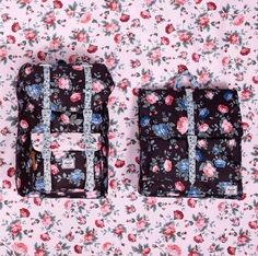 Herschel bags in Fine China print LOVE this floral pattern
