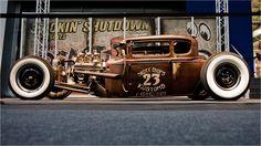 Vntage Hot Rod wallpaper 17971