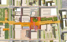 TechTown District Plan,core area plan