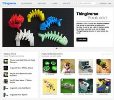 Thingiverse download free 3D files