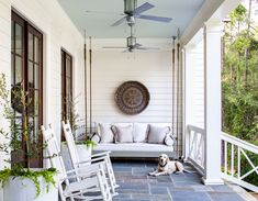 Columbus Farmhouse - Ashley Gilbreath Outdoor Rooms, Indoor Outdoor, Outdoor Living, Outdoor Decor, Outdoor Patios, Outdoor Kitchens, Ashley Gilbreath, Georgia Homes, Blue Ceilings