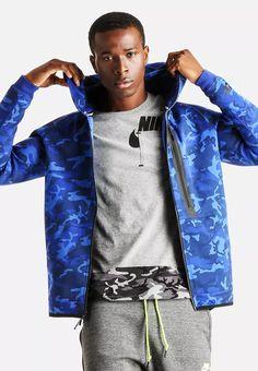 eca35759bf1cd2 NEW Nike Mens Tech Fleece Jogger Tapered Sweatpants 682852 480 Blue ...