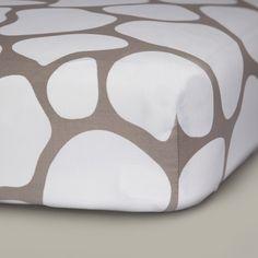 oilo cobblestone crib sheet baxton studio iona mid century retro modern