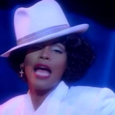 """Whitney Houston.  A voice like that only comes around once every twenty to thirty years.  She was a gift.  """"I'm Your Baby Tonight"""" was my favorite Whitney video."""