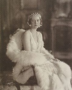 Her Royal Highness Princess Filiberto of Savoy-Genoa (1905–1977) née Her Serene Highness Princess Lydia of Arenberg