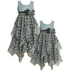Size-6X BNJ-4718B AQUA-BLUE BLACK ASYMMETRIC TIERED DOTTED-MESH Special Occasion Wedding Flower Girl Party Dress,B34718 Bonnie Jean LITTLE GIRLS Bonnie Jean, http://www.amazon.com/dp/B008EOWZN4/ref=cm_sw_r_pi_dp_f.C6pb1Z8NXP7