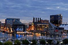 Baltimore Harbor:)