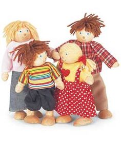 Buy Pintoy Wooden Dolls Family - B at Argos.co.uk, visit Argos.co.uk to shop online for Dolls houses