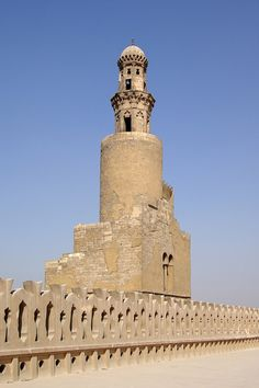 Kairo Ibn Tulun Moschee BW 7 - Great Mosque of Samarra - Wikipedia