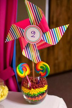 Little Big Company | The Blog: Rainbow Lalaloopsy 2nd Birthday Party by Parties and Celebrations