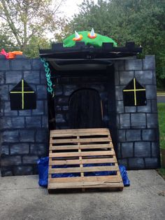 Bowsers castle (trunk or treat)