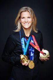 3 Times OLYMPIC GOLD MEDALIST and the #1 Goaltender for Team Canada, Miss KIM ST-PIERRE.